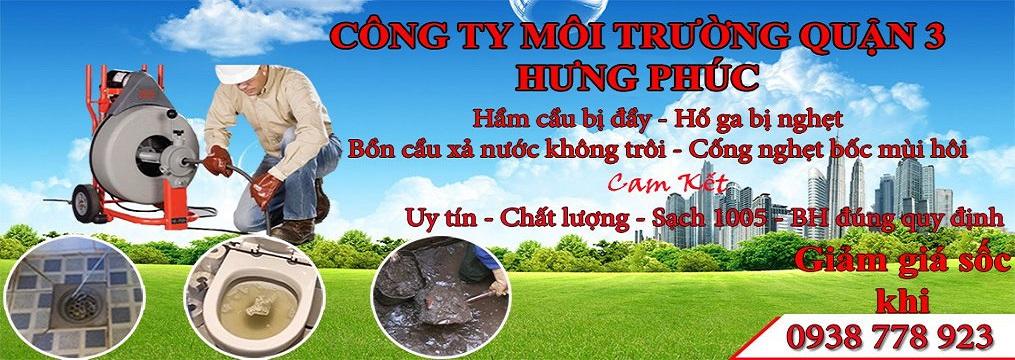 Công Ty Thông Tắc Bồn Cầu Toilet Quận 3 Hưng Phúc 0905561312