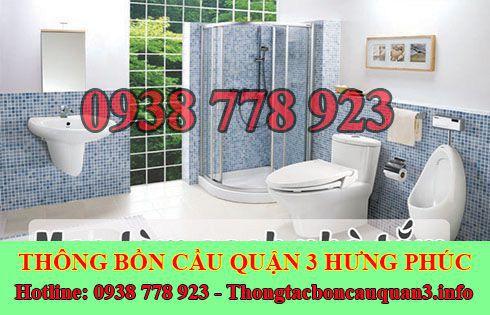 Dịch vụ xử lý mùi hôi bồn cầu quận 3 Hưng Phúc 0938778923