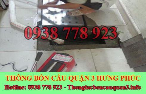 Số điện thoại thông cống nghẹt Hưng Phúc giá rẻ LH 0938778923