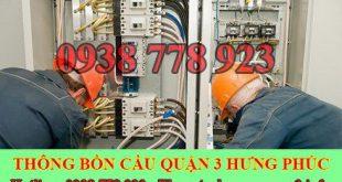 Thợ sửa chữa điện nước Quận 3 giá rẻ tại nhà 0909994175
