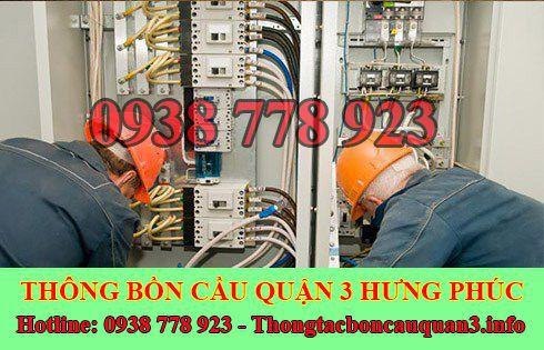 Thợ sửa chữa điện nước Quận 3 Hưng Phúc LH 0938778923