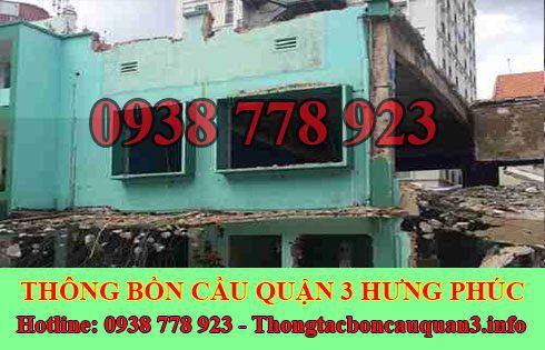 Thu mua xác nhà kho xưởng cũ Quận 3 Hưng Phúc LH 0938778923