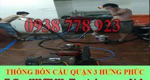 Bảng giá vệ sinh bể chứa nước ngầm Quận 3 giá rẻ 0909994175