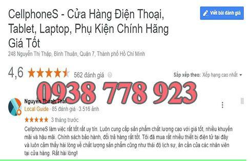 Đánh giá khách hàng về Cell phone s