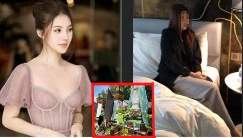 jolie nguyễn lộ clip người mẫu tại khách sạn